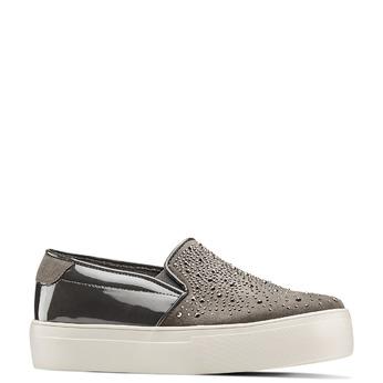 Women's shoes bata-light, Gris, 549-2214 - 13