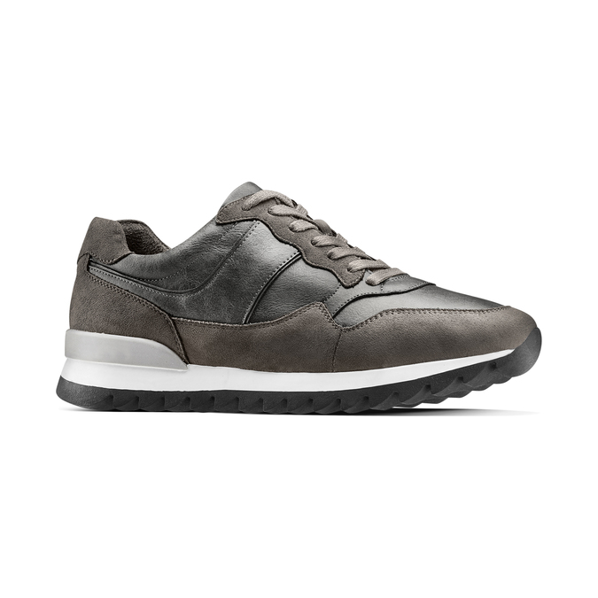 Men's shoes bata, Gris, 841-2738 - 13