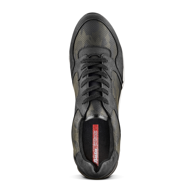 Men's shoes bata, Noir, 841-6479 - 17