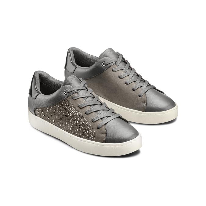 Women's shoes bata-light, Gris, 549-2180 - 16