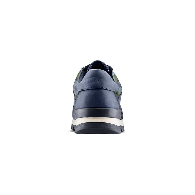 Men's shoes bata, Bleu, 841-9479 - 15