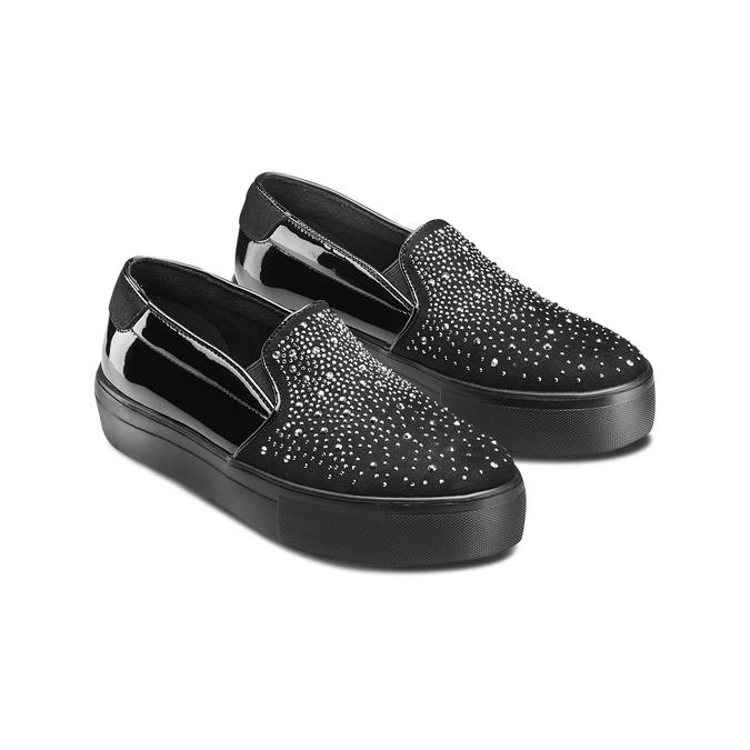 Women's shoes bata-light, Noir, 549-6214 - 16
