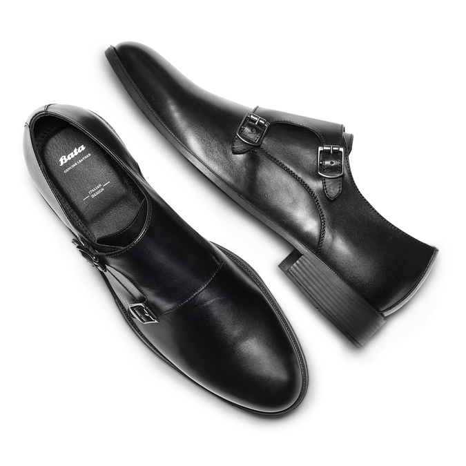 Men's shoes bata, Noir, 824-6128 - 26