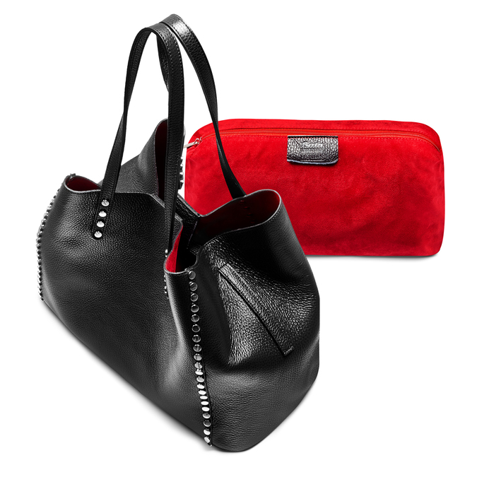 Bag bata, Noir, 964-6136 - 17