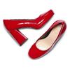 Women's shoes bata, Rouge, 728-5172 - 26
