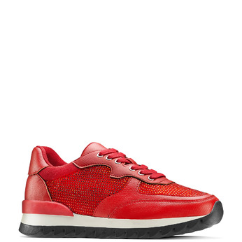 Women's shoes bata, Rouge, 541-5312 - 13