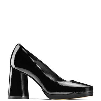 Women's shoes bata, Noir, 728-6172 - 13