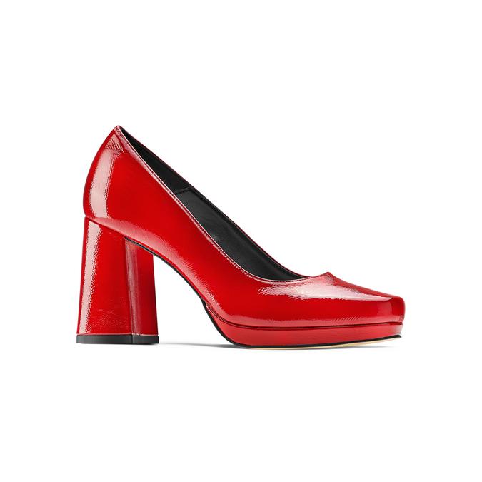 Women's shoes bata, Rouge, 728-5172 - 13
