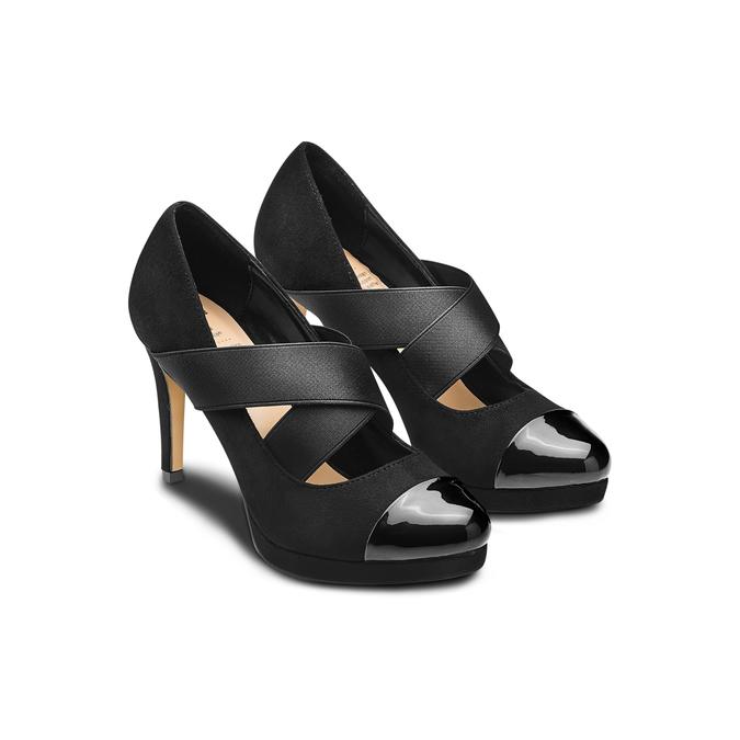 Women's shoes insolia, Noir, 729-6174 - 16