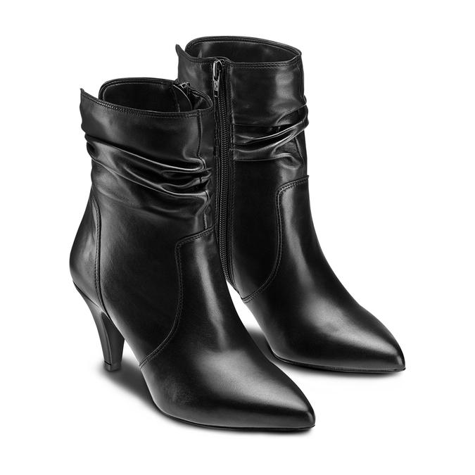 Women's shoes bata, Noir, 794-6187 - 16