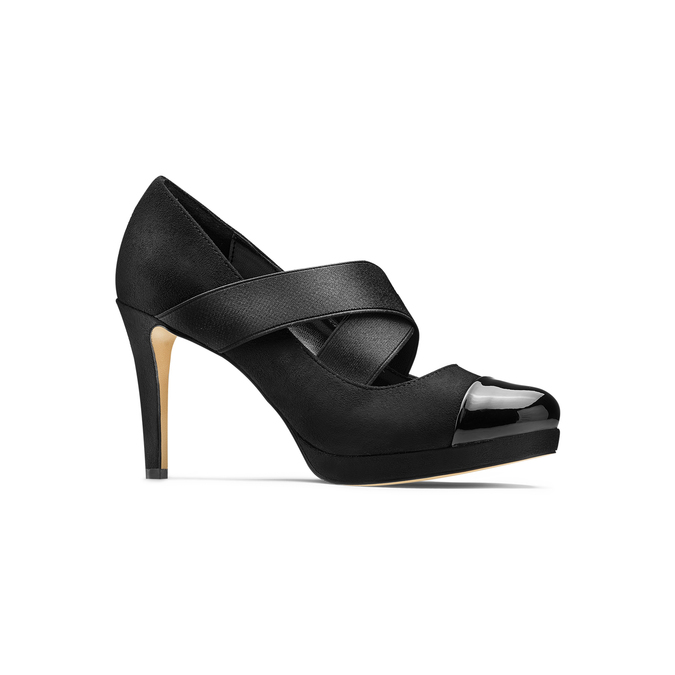 Women's shoes insolia, Noir, 729-6174 - 13