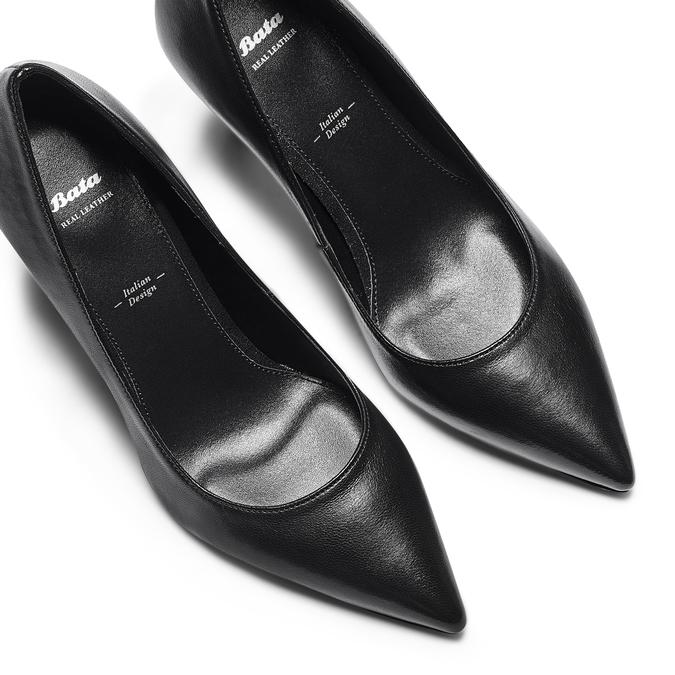 Women's shoes bata, Noir, 724-6151 - 26