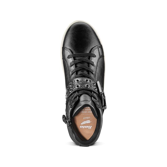 Women's shoes bata-light, Noir, 541-6269 - 17
