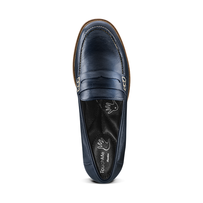 Women's shoes bata-touch-me, Bleu, 514-9198 - 17