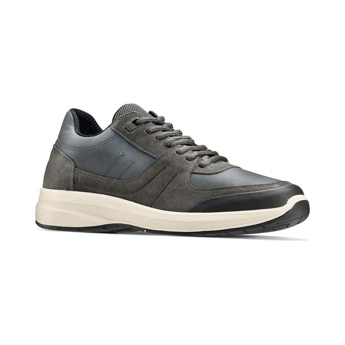Men's shoes bata-light, Gris, 843-2418 - 13