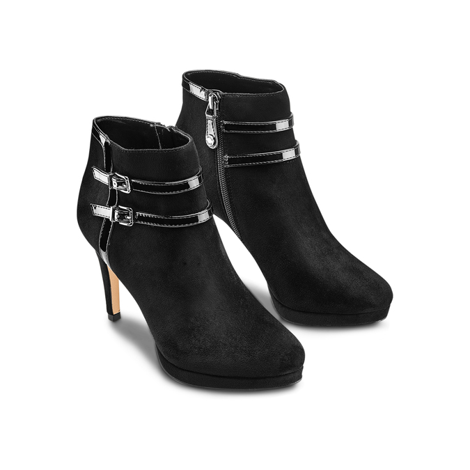 Women's shoes insolia, Noir, 799-6315 - 16