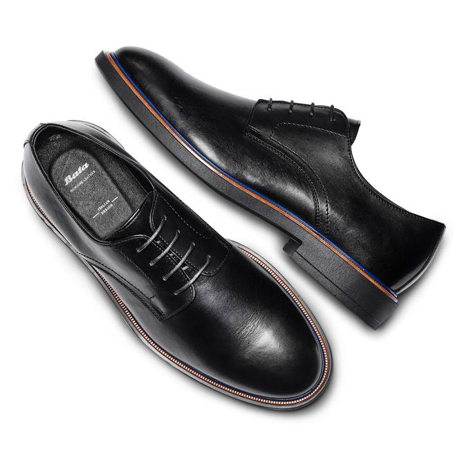 Men's shoes bata, Noir, 824-6504 - 26