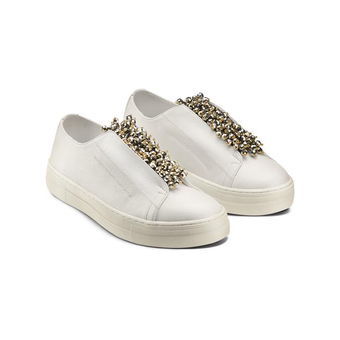 Women's shoes bata, Blanc, 541-1131 - 16