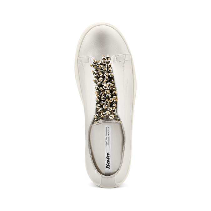Women's shoes bata, Blanc, 541-1131 - 17