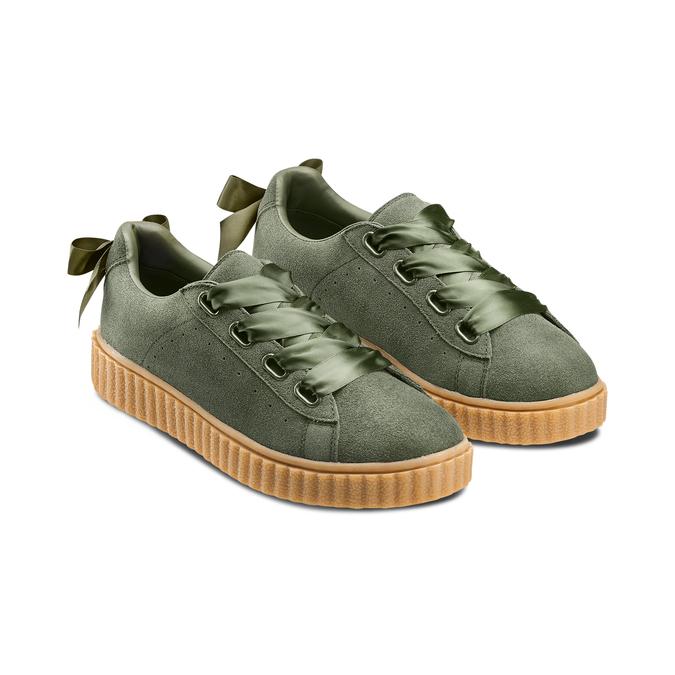 Women's shoes bata, Vert, 543-7415 - 16