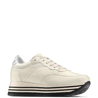 Women's shoes bata, Jaune, 644-8103 - 13