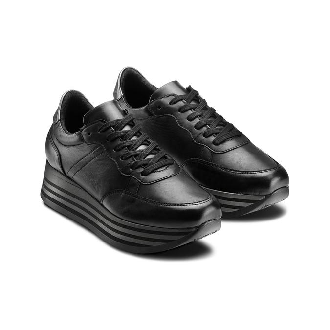 Women's shoes bata, Noir, 644-6103 - 16