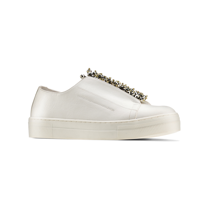 Women's shoes bata, Blanc, 541-1131 - 13