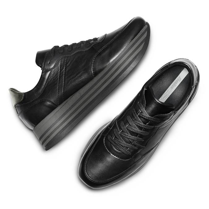 Women's shoes bata, Noir, 644-6103 - 26
