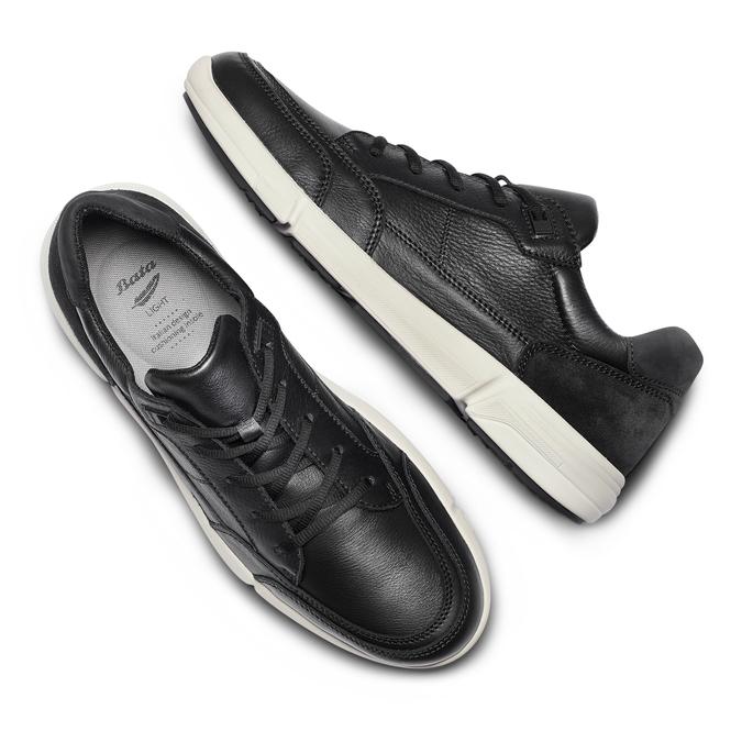 Men's Shoes bata-light, Noir, 844-6419 - 26