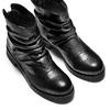 Women's shoes bata, Noir, 594-6622 - 17
