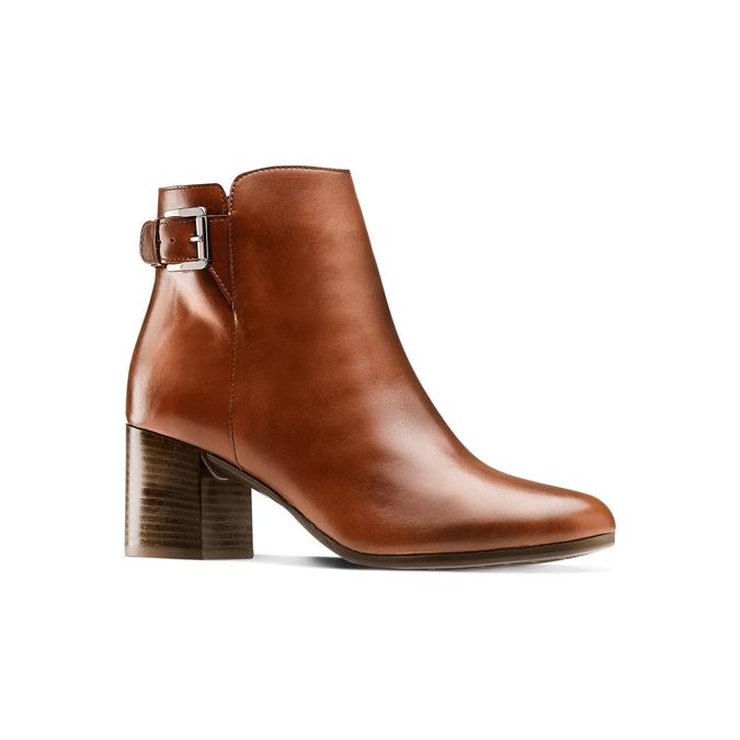 Women's shoes bata, Brun, 794-4455 - 13