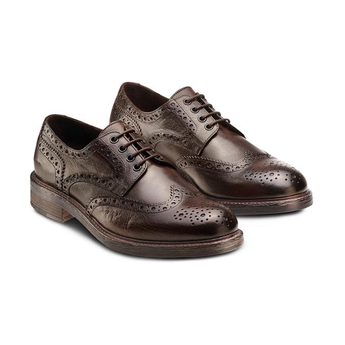 Women's shoes bata, Brun, 824-4336 - 16