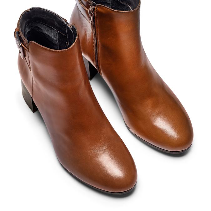 Women's shoes bata, Brun, 794-4455 - 17