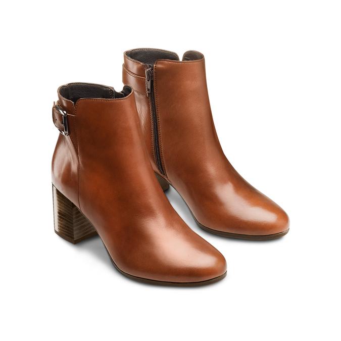Women's shoes bata, Brun, 794-4455 - 16
