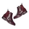 Women's shoes flexible, Rouge, 593-5195 - 26