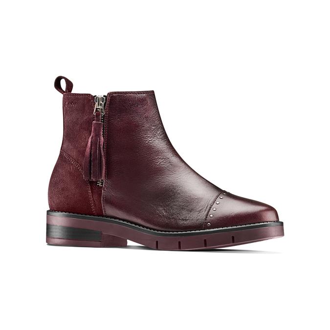 Women's shoes flexible, Rouge, 593-5195 - 13