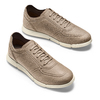 Men's shoes bata-b-flex, Jaune, 849-8568 - 26