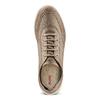 Men's shoes bata-b-flex, Jaune, 849-8568 - 17