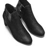 Women's shoes insolia, Noir, 799-6323 - 17