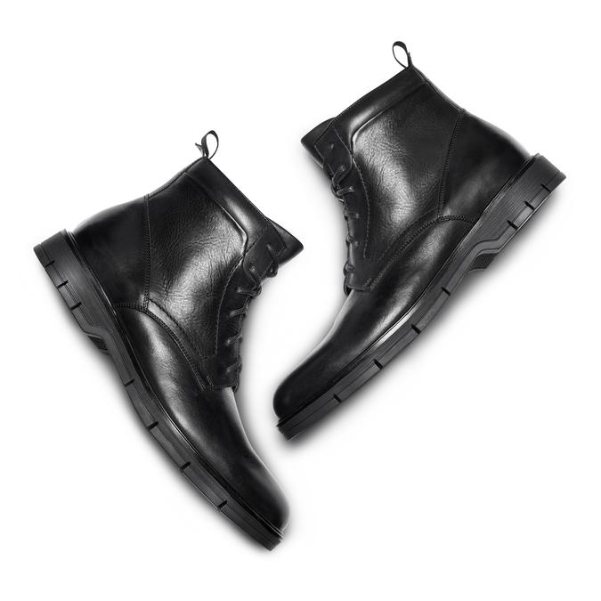 Men's shoes flexible, Noir, 894-6236 - 26