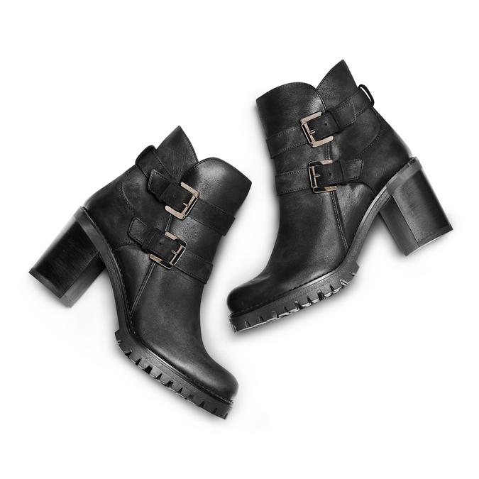 Women's shoes bata, Noir, 796-6414 - 26