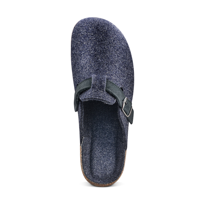 Men's shoes bata, Bleu, 879-9279 - 17