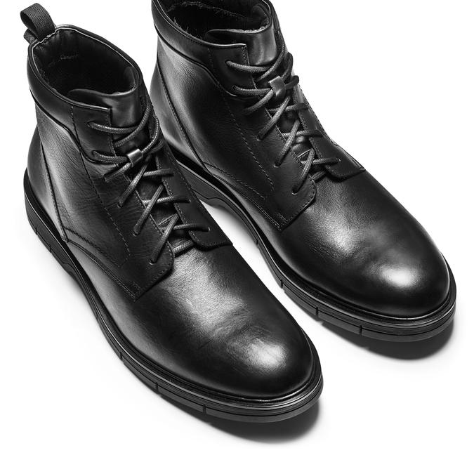 Men's shoes flexible, Noir, 894-6236 - 17