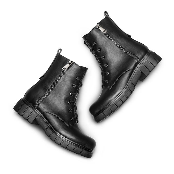 Women's shoes bata, Noir, 691-6345 - 26