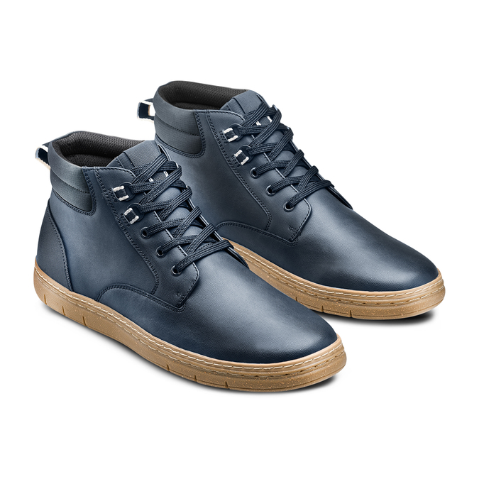 Men's shoes bata-rl, Bleu, 891-9253 - 16