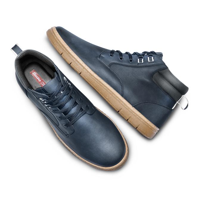Men's shoes bata-rl, Bleu, 891-9253 - 26