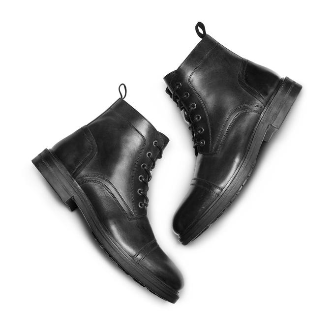 Men's shoes bata, Noir, 894-6323 - 26